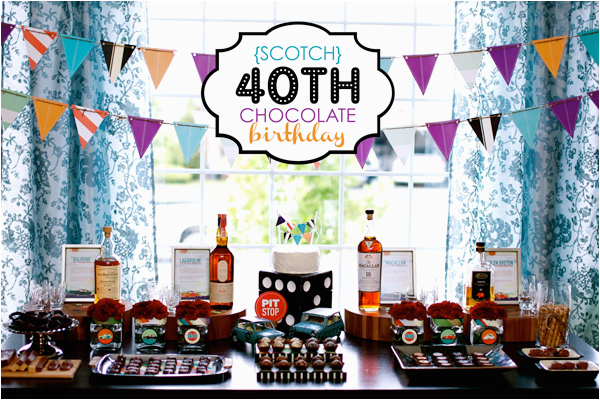 40 Year Old Birthday Decorations 40th Party Ideas Adult