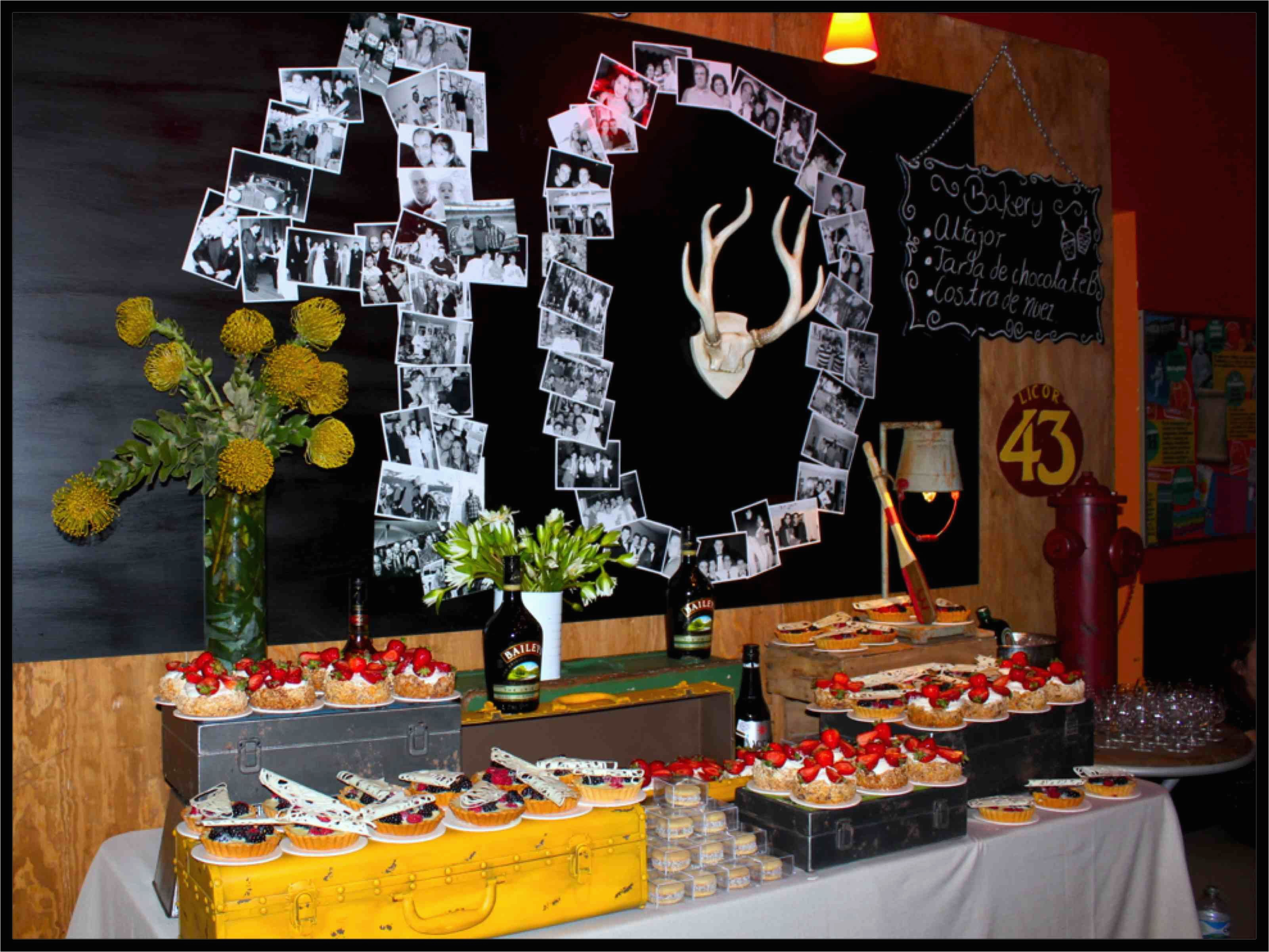 40 Year Old Birthday Decorations Party Ideas For Forty Years Pinterest