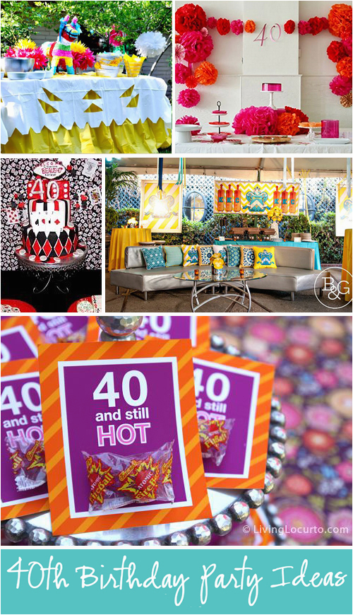 40 Year Old Birthday Party Decorations 10 Amazing 40th Ideas For Men And Women
