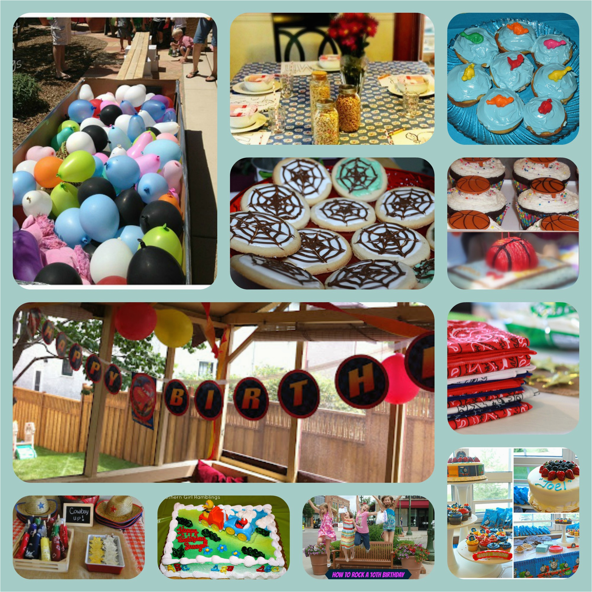 40 birthday party themes
