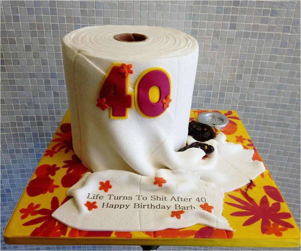 40 Year Old Birthday Party Decorations Cake Ideas A
