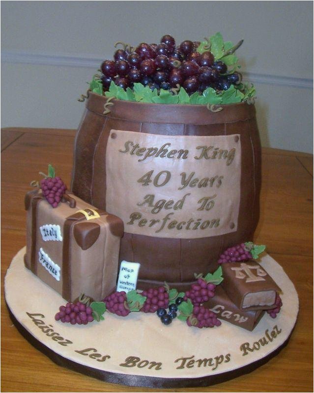 40 year old birthday cake ideas
