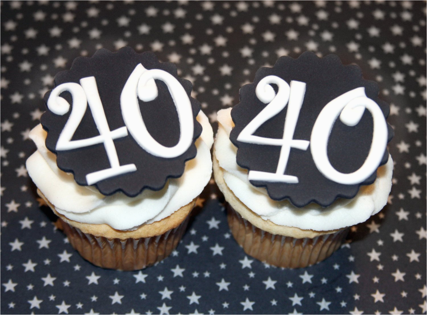 40th birthday cake toppers