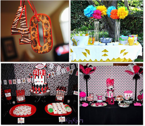 40th Birthday Decoration Ideas For Men Party New