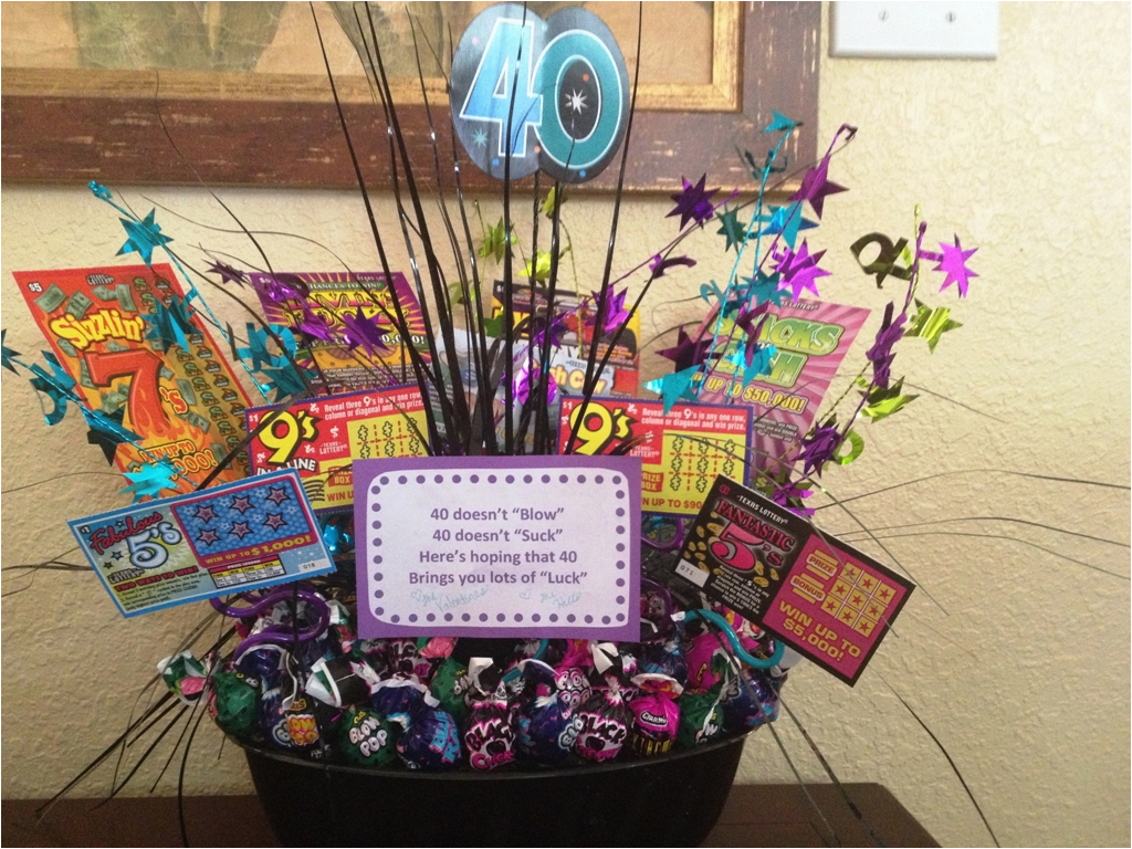 tips to select 40th birthday ideas for wife