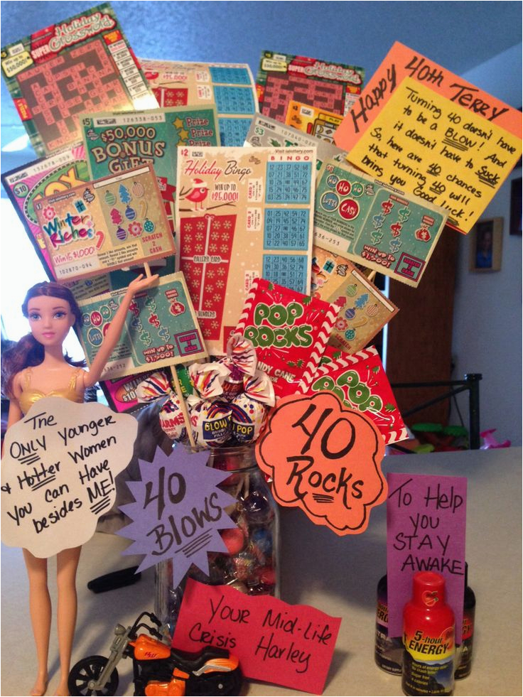 40th Birthday Gag Gifts For Her Gift Idea Ideas Pinterest Models