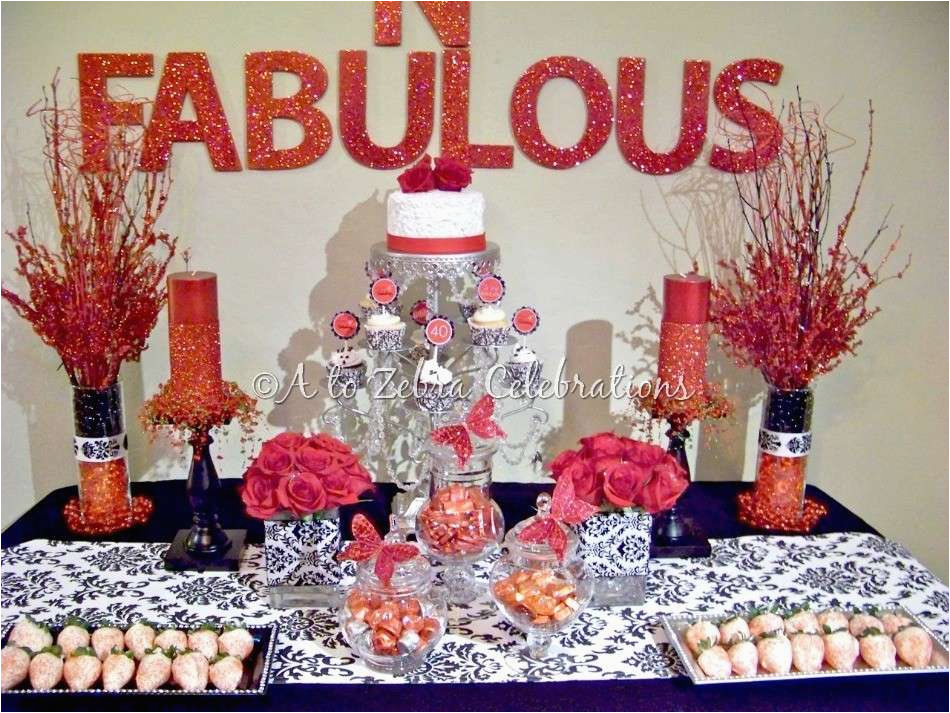 40th birthday party ideas for women 40th birthday party