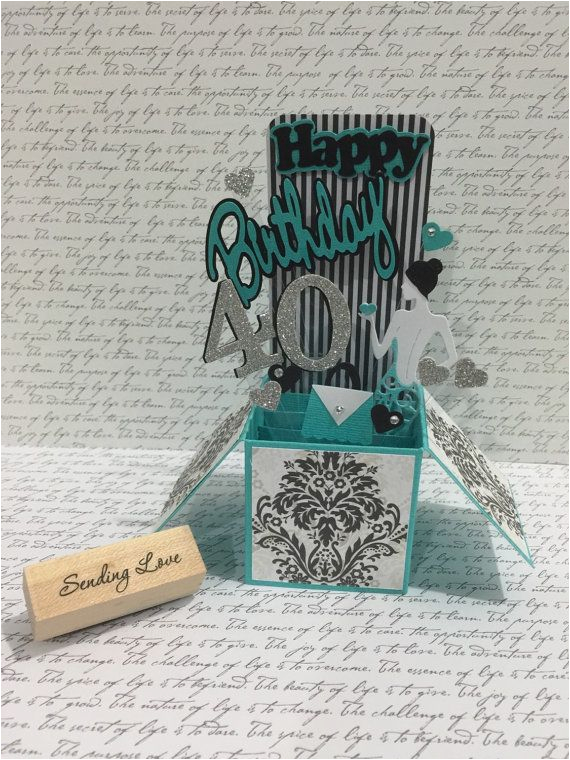 40th Birthday Ideas For Daughter 21st 30th 50th 16th Card In A Box By