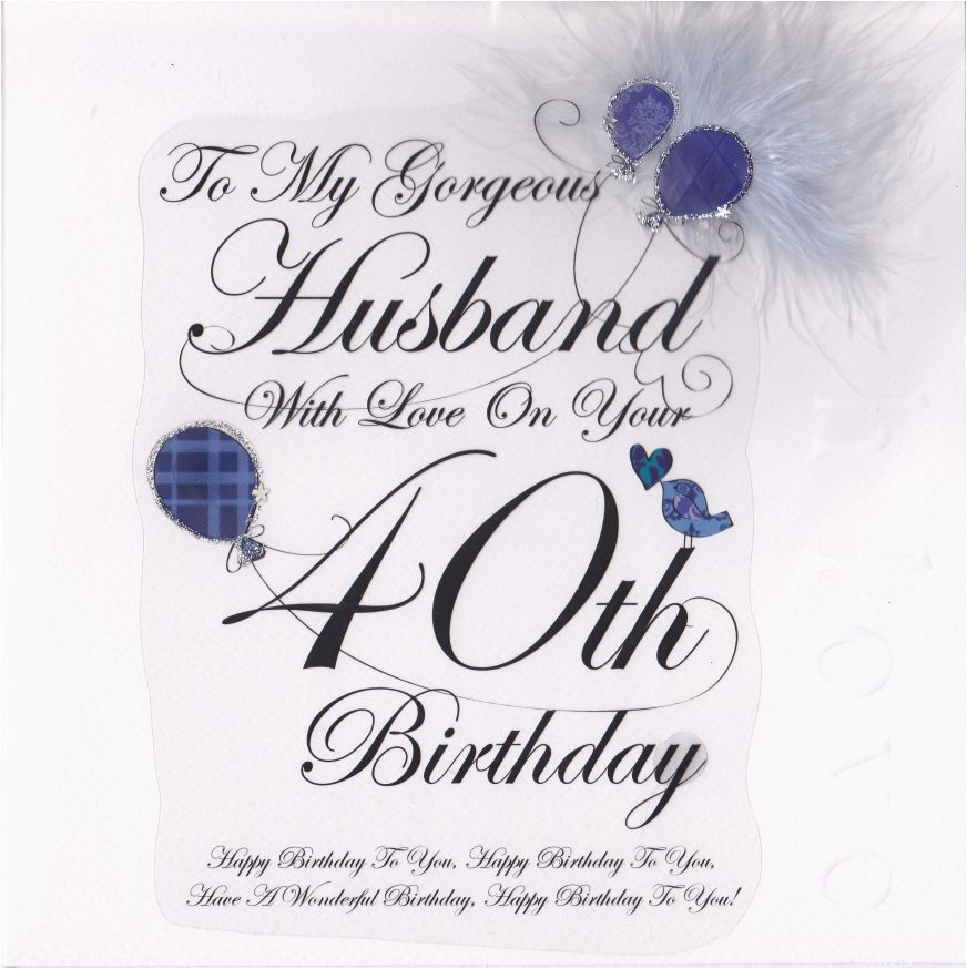 40th Birthday Ideas For My Husband Good Gifts