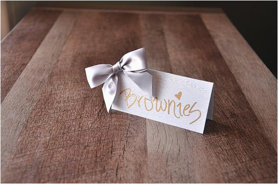 40th birthday decoration place cards