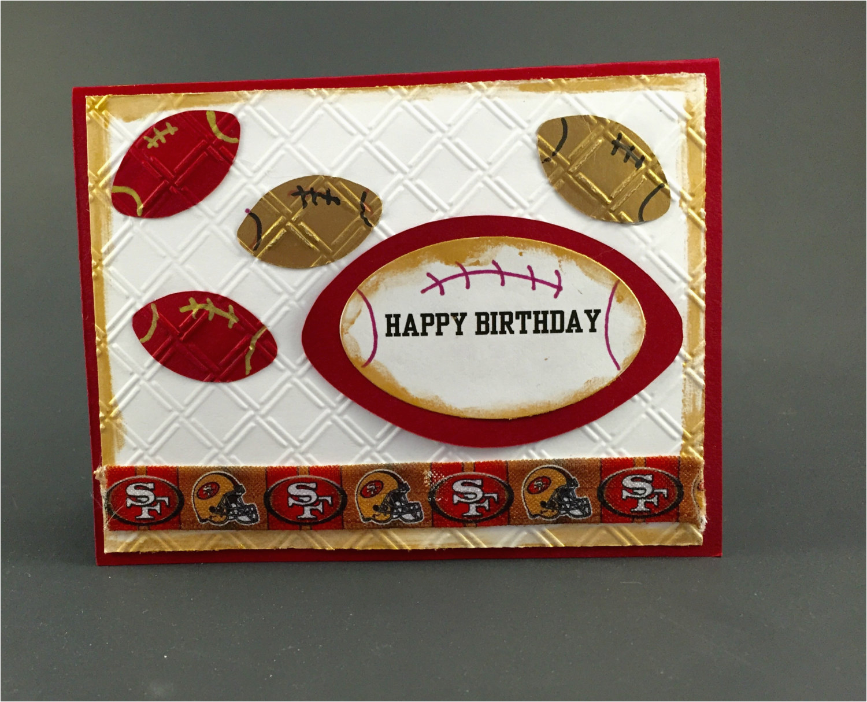 san francisco 49ers cardsan francisco 49ers birthday