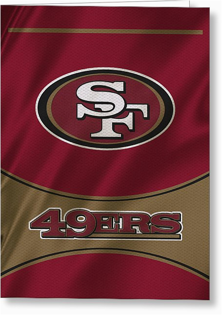 san francisco 49ers greeting cards for sale