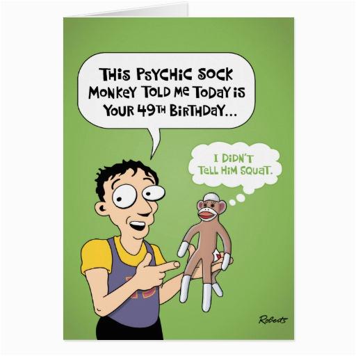 49th birthday cards