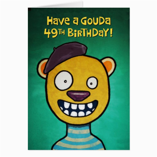 49th Birthday Card Funny For Women Zazzle