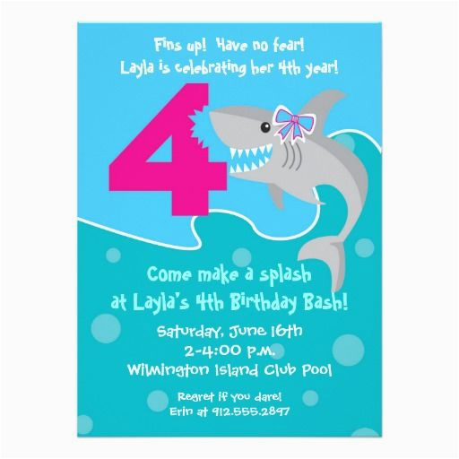 4th Birthday Invitation Cards 388 Best Images About Party Invitations On