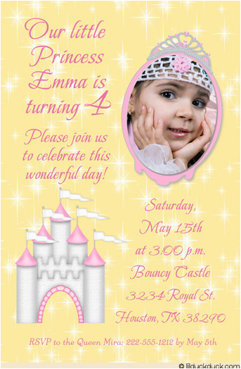 4th birthday party invitation wording