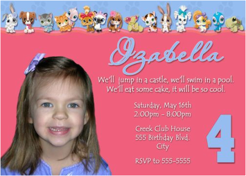 4th Birthday Party Invitation Wording Quotes
