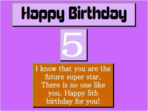 best 5th birthday wishes collections hubpages