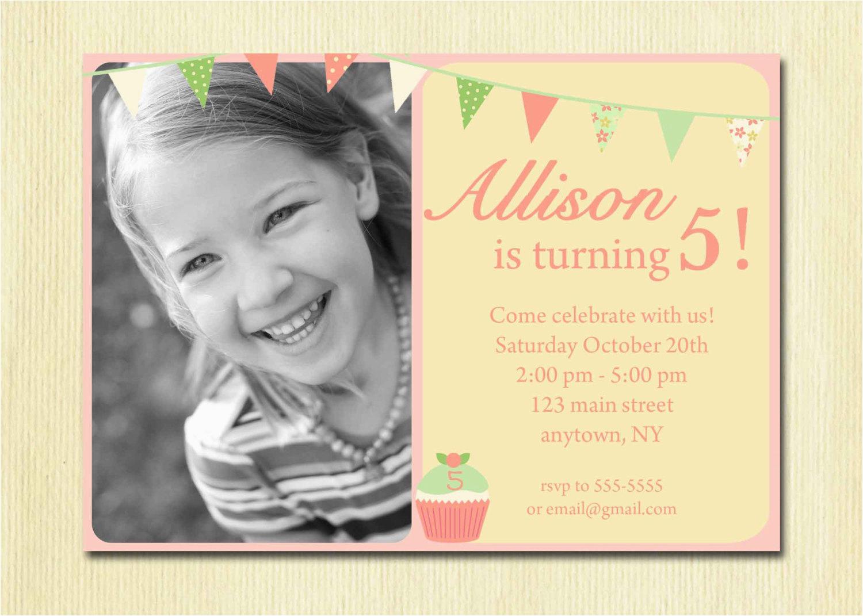 5 Year Old Birthday Invitation Rhymes Birthdaybuzz