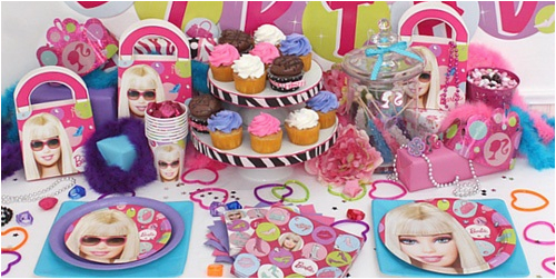 barbie birthday party ideas for a 5 year old girl
