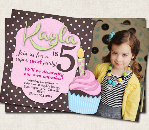 5 Year Old Birthday Party Invitation Wording Creative 6 Following