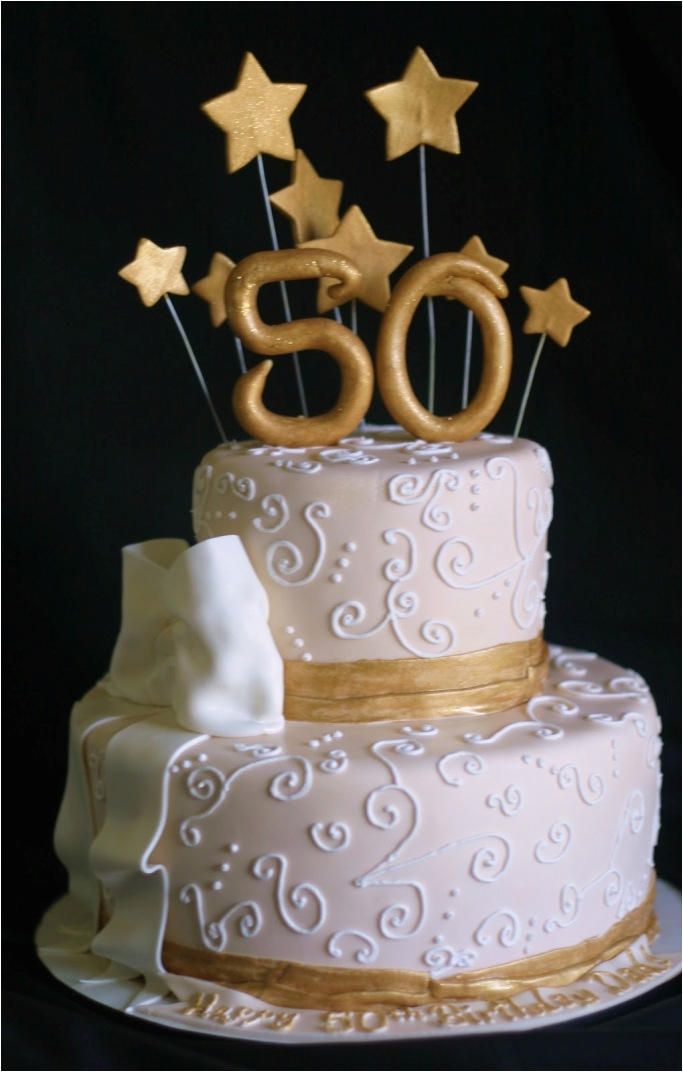 50 Birthday Cake Decorations 50th Cakes Ideas Healthy Food Galerry