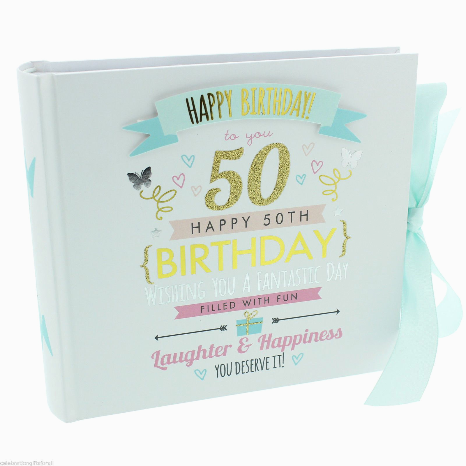 50 Birthday Gifts For Her 50th Photo Album Gift