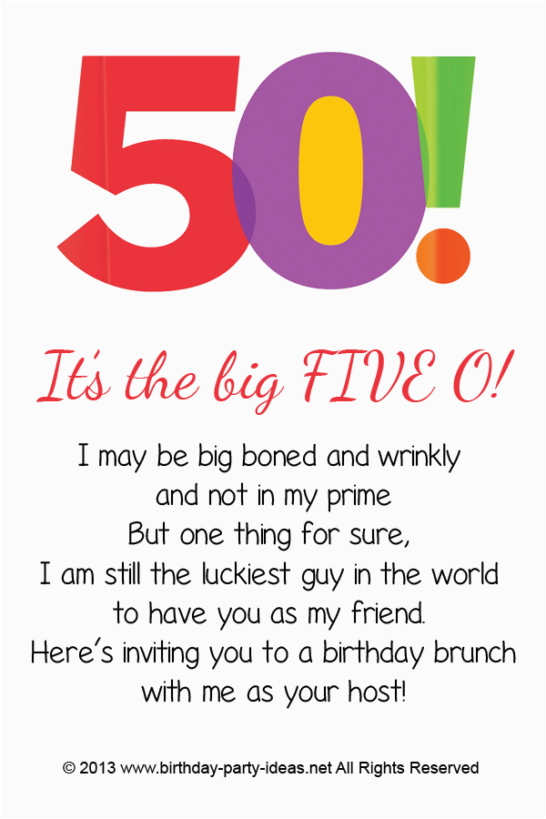 50 Year Old Birthday Card Ideas Free Printable 50th Party Invitations Template