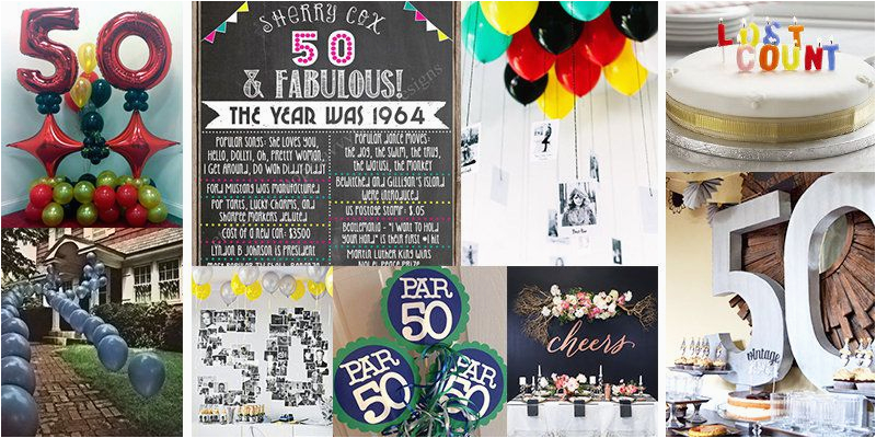 50 Year Old Birthday Decorations 50th Party Ideas