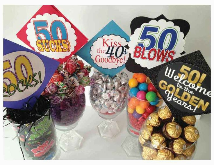 352406739567788981 Very Clever Centerpiece Ideas For Milestone Birthdays Use From 50 Year Old Birthday Decorations