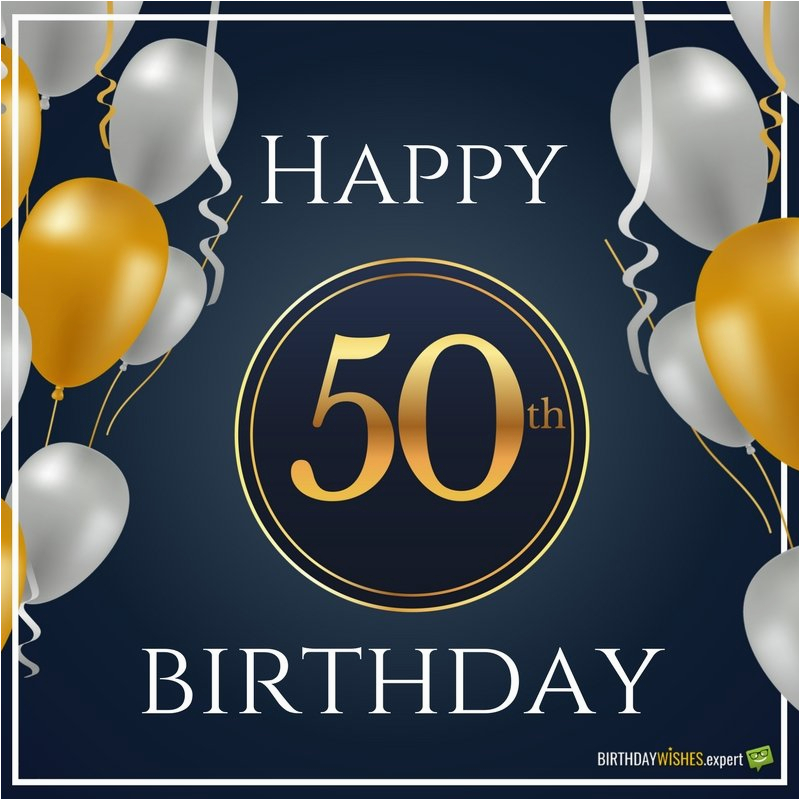 50 Years Old Birthday Cards Happy 50th Funny Sweet Wishes For Year Olds