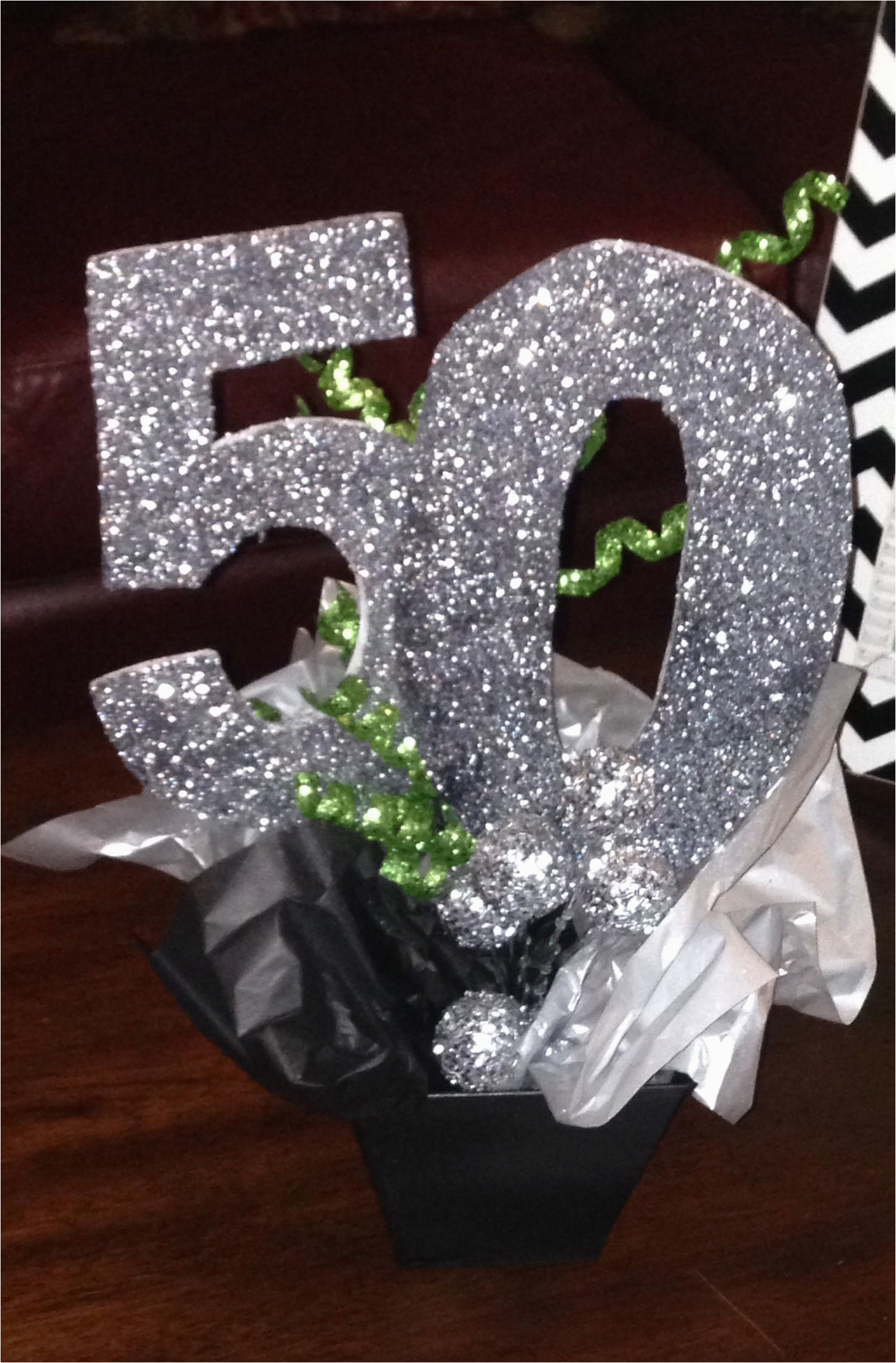 50th Birthday Centerpiece Decorations Picture 339529259383335797