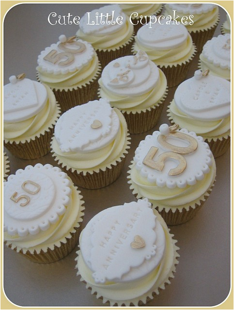 50th Birthday Cupcake Decorating Ideas Elegant Wedding Anniversary Cake Toppers To Adorn The