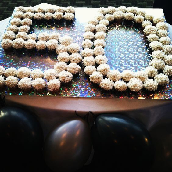 50th Birthday Cupcake Decorations The Best Party Ideas Games