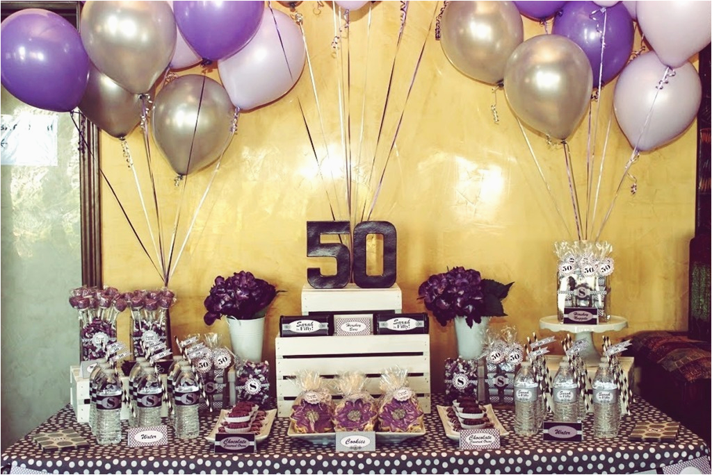 50th Birthday Decor Ideas Take Away The Best Party For Men