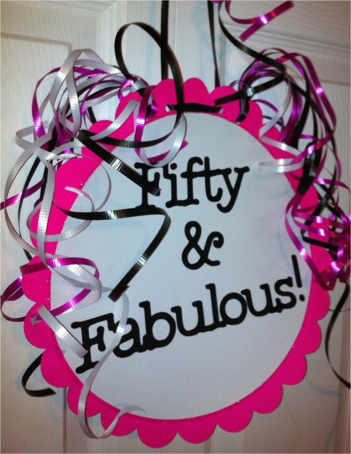 50th Birthday Decorations For Her Party Favors Ideas