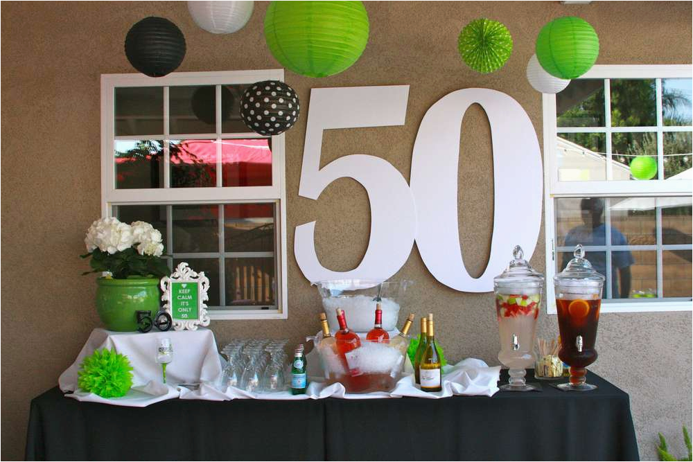 50th Birthday Decorations To Make Party Ideas