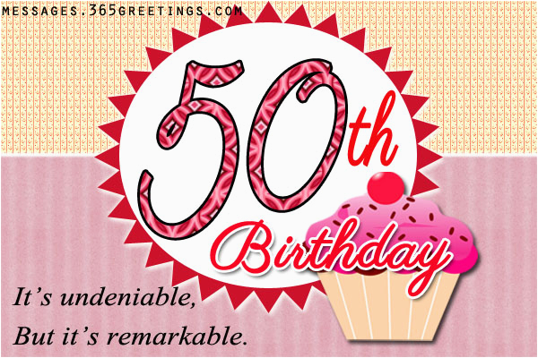 50th birthday wishes and messages 365greetings com