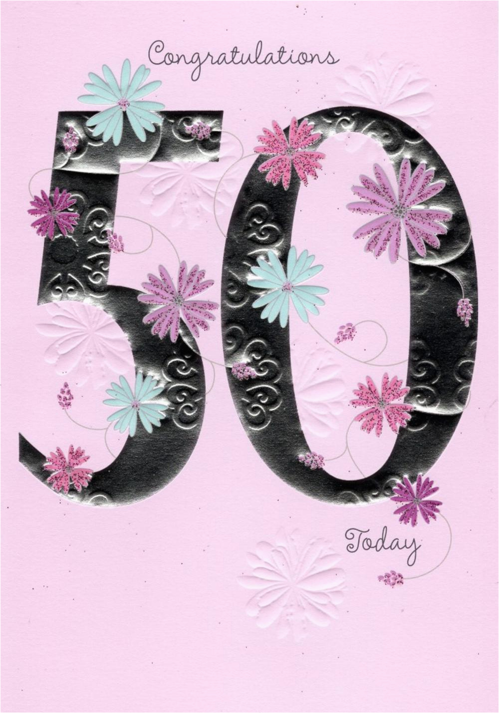 50th Birthday E Cards Happy Greeting Card