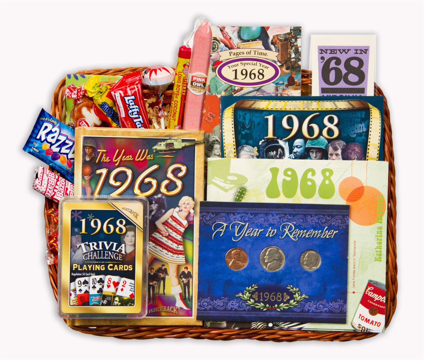 50th Birthday Gift Baskets For Her Gifts Men Born In 1968