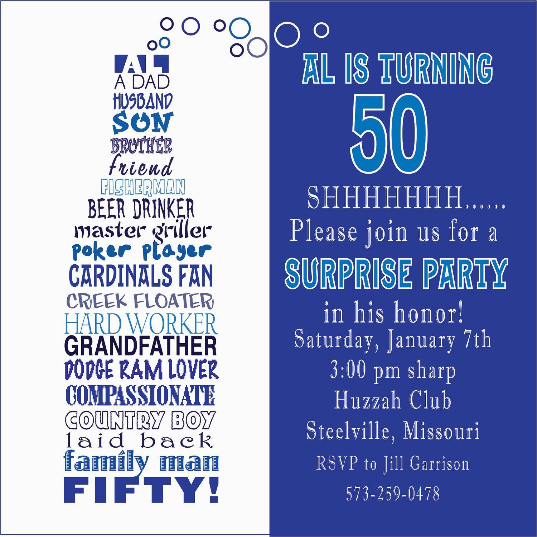 50th Birthday Invitation Quotes Quotesgram
