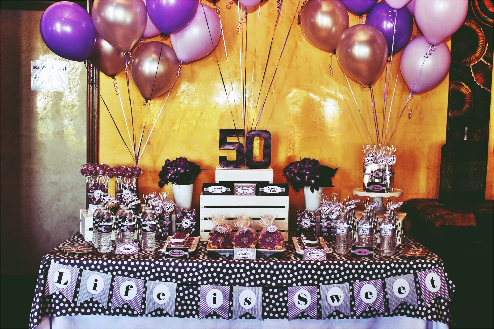 50th Birthday Party Decoration Ideas For Men Perfect Themes Youbirthday Inspire