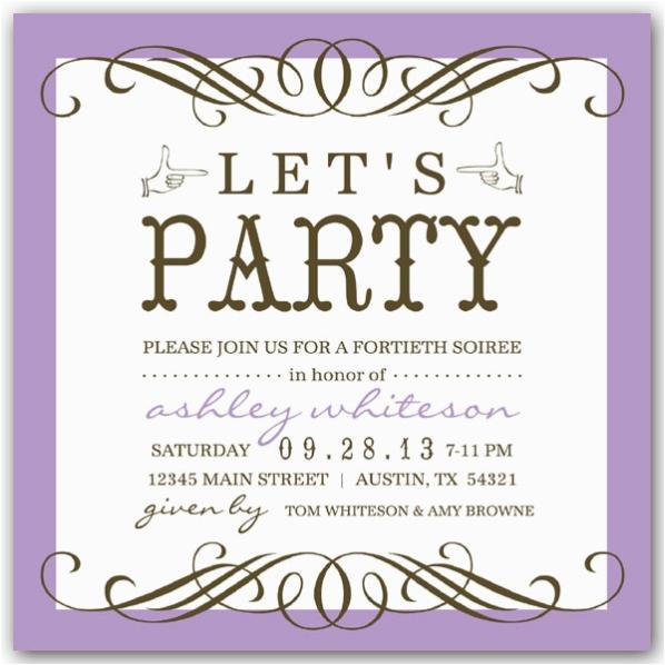50th Birthday Party Invite Wording Invitation Bagvania Free