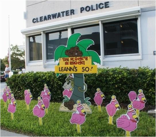 flamingos to celebrate 50th birthday in