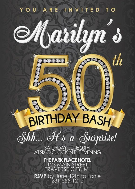 50th birthday invitations templates free alvia 39 s