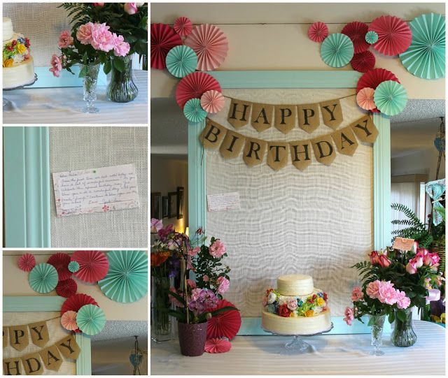 60 Birthday Decoration Ideas 60th Party For Mom Plus Gift