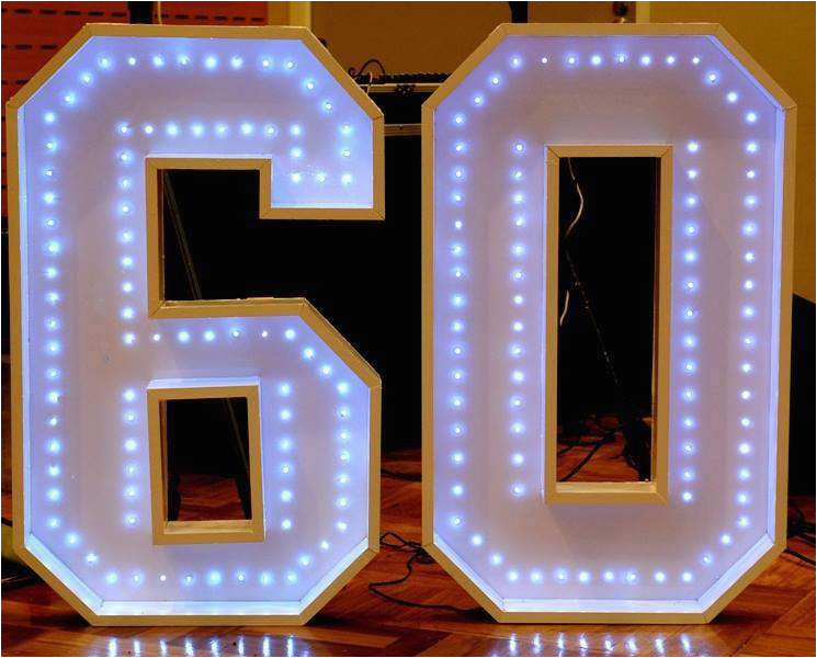 60 Birthday Decoration Ideas 60th Party