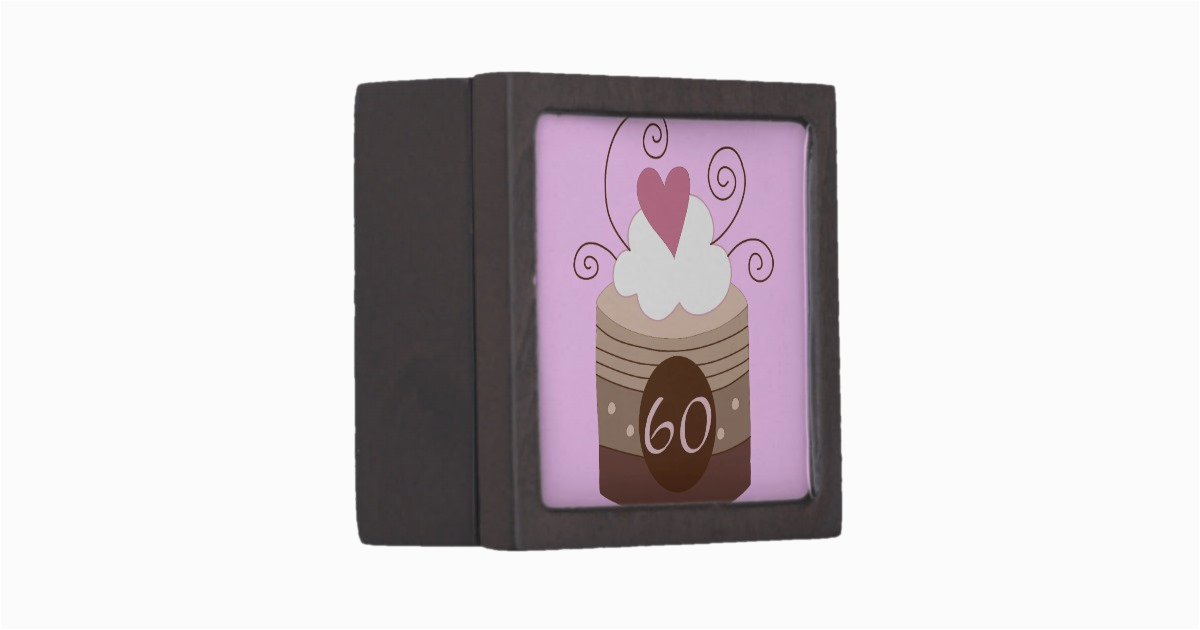 60 Birthday Gift Ideas For Her 60th Keepsake Box Zazzle
