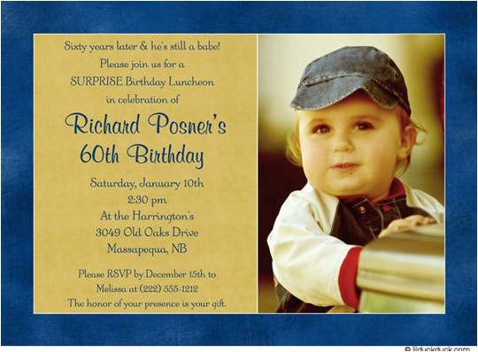 60 Birthday Invitation Wording 60th Invitations For Men Bagvania Free