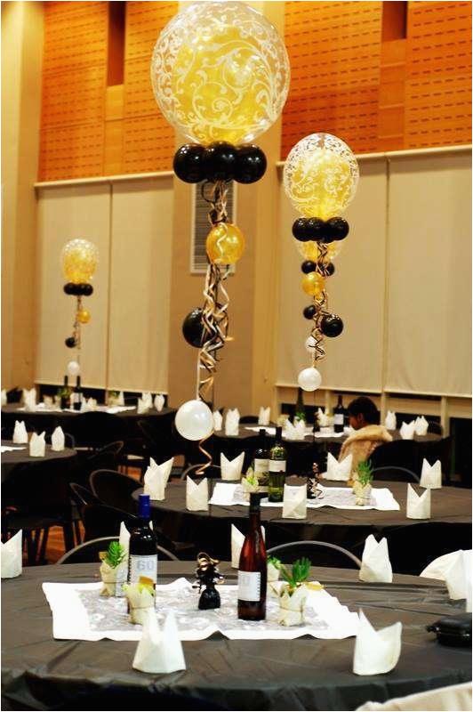 60 Birthday Table Decorations 60th Birthday Party Ideas